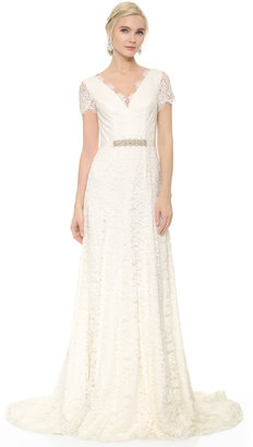 Theia Louise Gown with Belt $1,495 thestylecure.com