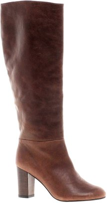 Asos COOPER Leather Knee High Boots