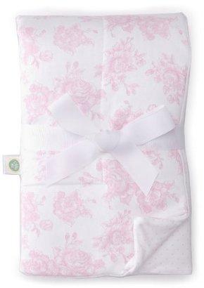 Little Me Baby-girls Newborn Blooming Puff Blanket