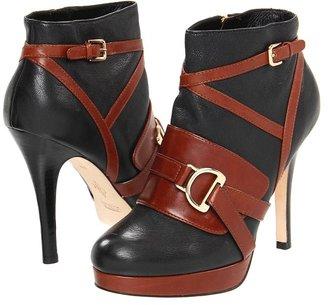 Cole Haan Carolyn Ankle Boot (Black/Sequoia) - Footwear