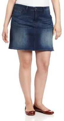 Levi's Women's Plus-Size Quilted Skirt