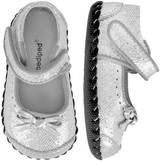 pediped Originals Ines (Infant) - Silver-XS (0-6 Months)