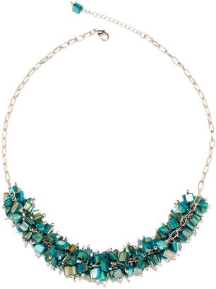 The Limited Mixed Shell Cluster Necklace
