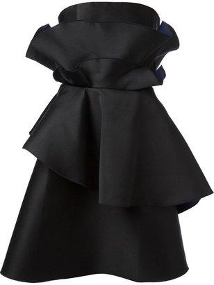 Viktor & Rolf layered peplum dress