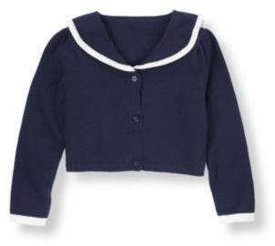 Janie and Jack Sailor Crop Cardigan