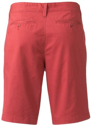 Sonoma life + style ® straight-fit flat-front shorts - men
