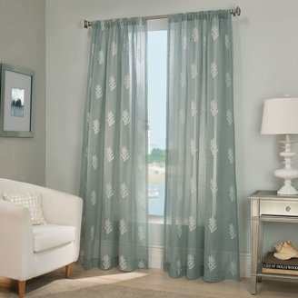 Bed Bath & Beyond Reef Sheer Window Curtain Panel