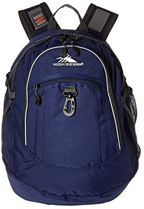 High Sierra Fat Boy Backpack (True Navy/Mercury) Backpack Bags