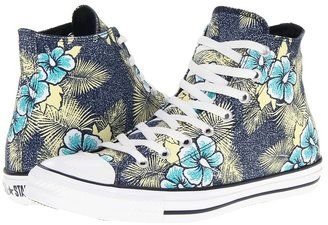 Converse Chuck Taylor All Star Hawaiian Print Hi (Navy/Floral) - Footwear