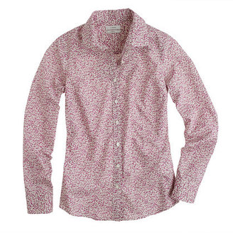 J.Crew Liberty perfect shirt in Pepper floral