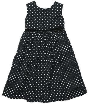 Carter's Sleeveless Satin Print Dress