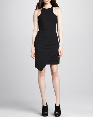 Elizabeth and James Claire Sleeveless Asymmetric Dress