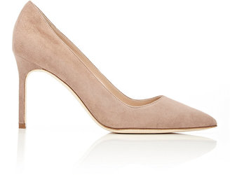 Manolo Blahnik Women's BB Pumps $595 thestylecure.com