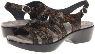Dansko Dani (Coffee Swirl Leather) - Footwear