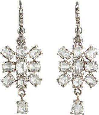 Irene Neuwirth Diamonds Diamond Mixed Shape Earrings with Diamond Dangle