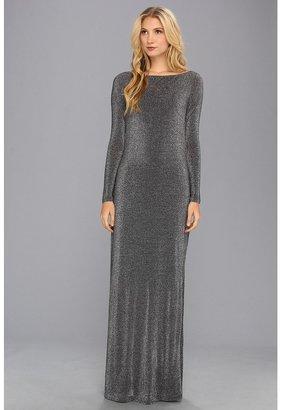 Ted Baker Kriya Sparkle Jersey Maxi Dress (Black) - Apparel