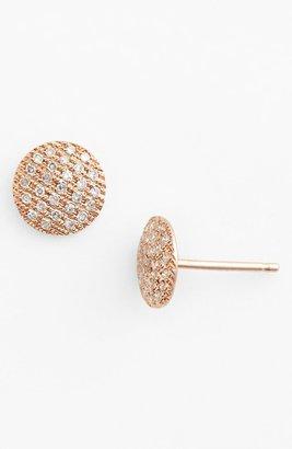 Dana Rebecca Designs 'Lauren Joy' Diamond Disc Stud Earrings