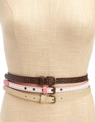 Charlotte Russe Sweetie Pie Skinny Belt Set