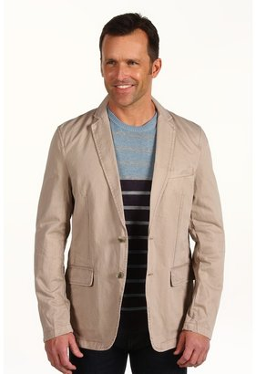 DKNY Unconstructed Overdye Blazer (Faded Khaki) - Apparel