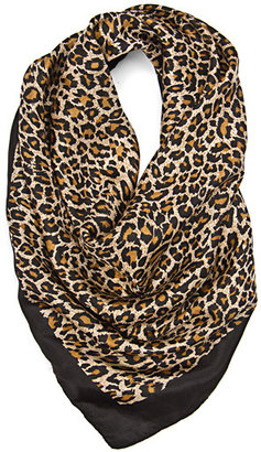 MANGO TOUCH - Colored animal print foulard