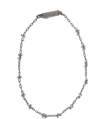 Ten Thousand Things Pinned Bead Cluster Bracelet - Sterling Silver