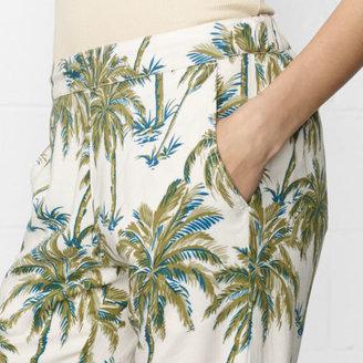 Denim & Supply Ralph Lauren Palm Branch Slouchy Chino Pant