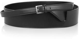 Saint Laurent Leather wrap-around waist belt