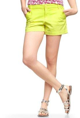 Gap Neon flat-front shorts