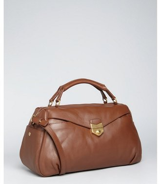 Yves Saint Laurent brown leather 'Sac Dandy' shoulder bag