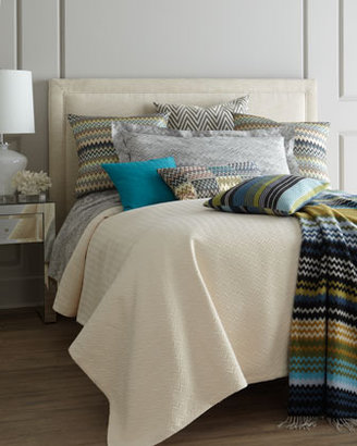 "Missoni Home Blue/Green Humbert Throw, 51"" x 75"""