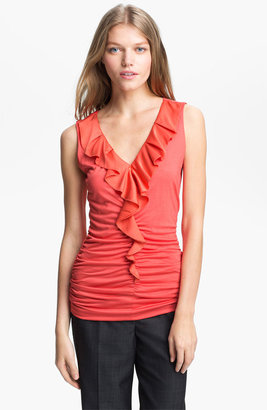 Classiques Entier Ruffled Jersey Top