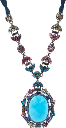 Lanvin Santa Barbara Pendant Necklace