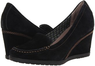 Naturalizer Paisley (Black Suede) - Footwear