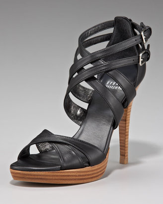 Stuart Weitzman Strappy Crisscross Sandal