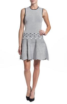 Torn By Ronny Kobo Liza Dress - Black/White