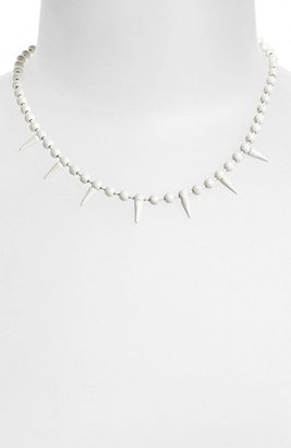Topshop 'Mini Spike' Necklace