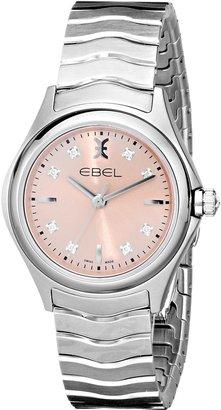 Ebel Women's 1216217 Wave Analog Display Swiss Quartz Silver Watch