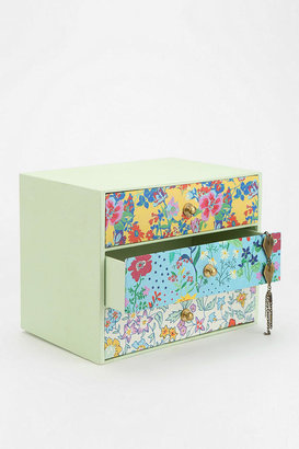 Urban Outfitters Floral Print Jewelry Box