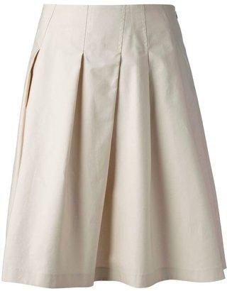 Jil Sander Navy high waisted skirt