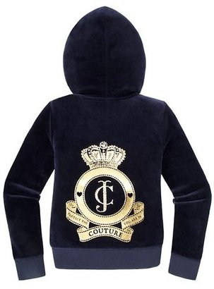 Juicy Couture Girls Original Jacket in Cameo Velour