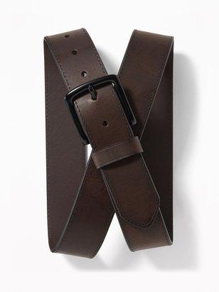 Old Navy Brown Leather Belt for Men