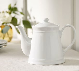 Pottery Barn Great White Teapot