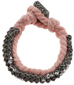 Juicy Couture War of Love Beaded Cord Bracelet