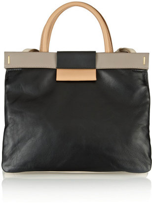 Marc by Marc Jacobs East End Colorblocked Madame Hilli leather tote