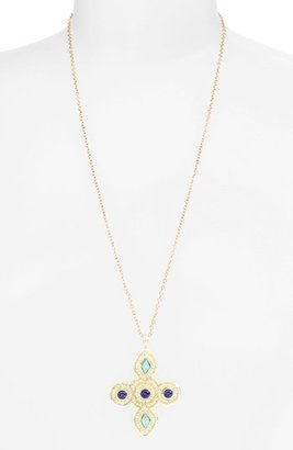 Anna Beck 'Gili' Maltese Cross Pendant Necklace