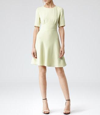 Reiss Hedy NIPPED WAIST DRESS