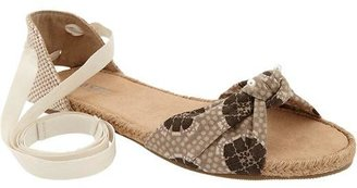 Old Navy Women's Espadrille Lace-Up Sandals