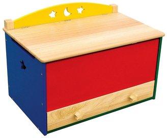 Guidecraft moon & stars toy box