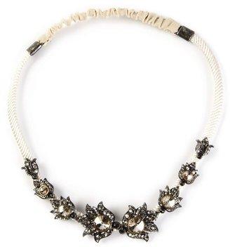 Lanvin crystal embellished head band