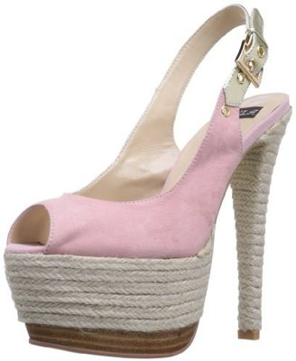 N.Y.L.A. Women's Pearlia Platform Sandal